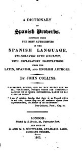 A Dictionary of Spanish Proverbs (1823).djvuA Dictionary of Spanish Proverbs (1823).djvu